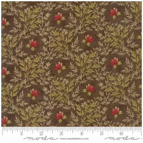 Tela de Patchwork Sweet Cherry Branch