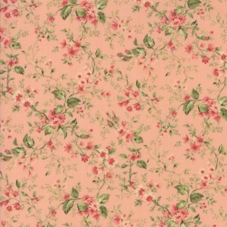 Tela Floral Floral Sprays Pink  33275 12