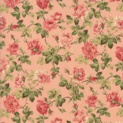Tela Floral Roses Pink