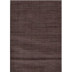 Tela Japonesa Tweed Thicket Marrón Oscuro
